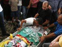 İsrail askerlerince öldürülen Filistinli çocuğa cenaze töreni düzenlendi