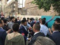 İYİ Parti Konya mitinginde arbede