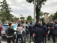 Konya'da İYİ Partililer kadına saldırdı