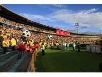 Binlerce Kolombiyalı, milli takımlarını Rusya'ya uğurladı