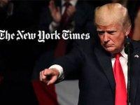 Trump'tan Newyork Times'e: Sorunlu ve yolsuz