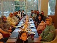 Profesyonel Turist Rehberleri iftar yemeğinde buluştu.