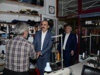 Başkan Altay Çeltik, Yunak ve Tuzlukçu'da vatandaşla buluştu
