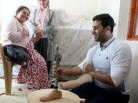 Suriyeli doktor çiftten Kilisli Zeynep'e dostluk eli