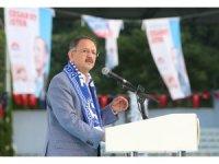 """Bakan Özhaseki, """"Sarıyer İmar Barışı Anlatımı"""" programına katıldı"""