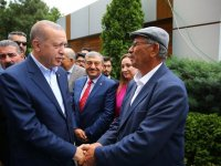 Erdoğan, şehit Halisdemir'in mezarını ziyaret etti!