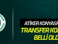 Konyaspor'da transfer komitesi belli oldu