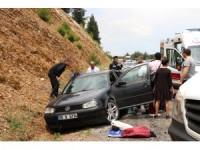 GÜNCELLEME - Denizli'de trafik kazası: 7 yaralı