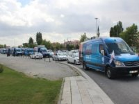 AK Parti Konya'dan bin araçlık konvoy