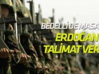 Erdoğan talimat verdi! Askerlikte yeni model...