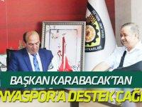 Karabacak'tan Konyaspor'a destek çağrısı