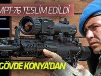 20 bin MPT-76 teslim edildi: 30 bin gövde Konya'dan