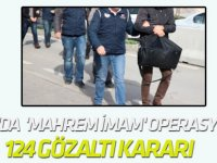 31 İlde 'Mahrem İmam' Operasyonu: 124 Gözaltı Kararı Çıktı