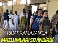 Ribat Ramazan'da mazlumları sevindirdi