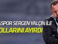 Konyaspor, Sergen Yalçın ile yollarını ayırdı ve teşekkür etti