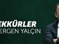 Konyaspor'dan Sergen Yalçın'a teşekkür