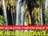 """Yerköprü Şelalesi'ne 17 Milyon Liralık """"Makyaj"""""""