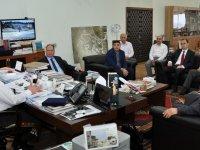 TÜBİTAK yetkilileri Uluslararası Kimya Olimpiyatları için NEÜ'yü ziyaret etti