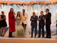 Volkan Babacan evlendi