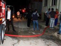 Seydişehir'de ev yangını