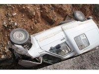 Yunak'ta trafik kazası: 1 yaralı