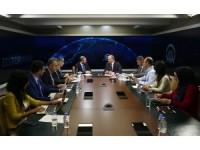 Bakan Özlü, AA Editör Masası'na konuk oldu: (5)