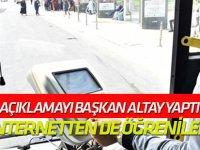 Başkan Altay açıkladı: Elkart bakiyeleri artık internetten de öğrenilebiliyor