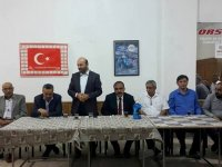Bakan Yardımcısı Tüfekci, seçim çalışmalarını sürdürdü
