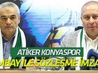 Atiker Konyaspor Çalımbay ile sözleşme imzaladı