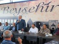 """Babaoğlu: """"Beyşehir'de bu dönemde birliği tesis ettik"""""""