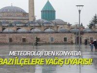 Meteoroloji'den Konya'ya yağış uyarısı