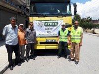 AYDER 201. Yardım Aracını Mazlumlara Gönderdi