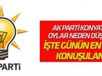 Sosyal medyanın konusu:  'AK PARTİ Konya'da neden bu kadar çok oy kaybı yaşadı?'