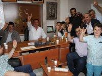 AK Parti Yunak'dan MHP'ye ziyaret