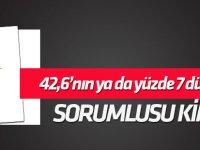 AK Parti'de 42,6'nın ya da yüzde 7 düşüşün sorumlusu kim?