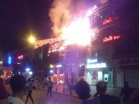 Konya'da korkutan yangın!