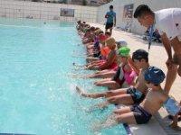 Seydişehir'de jeotermal yüzme havuzu sezonu açıldı