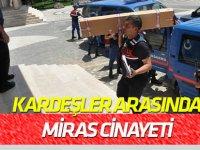 """Konya'da Kardeşler arasında """"miras"""" cinayeti"""