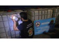 Mersin'de yaklaşık 15 ton eroin ham maddesi ele geçirildi