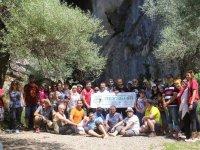 Doğaseverler Çamlık Mağaraları'nda buluştu