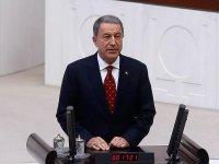 Milli Savunma Bakanı Hulusi Akar: İnsan kuş misali...