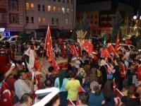 Kulu'da 15 Temmuz yürüyüşü yapıldı