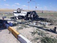 Konya'da iki otomobil çarpıştı: 1 ölü, 7 yaralı
