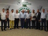 TSYD Konya'dan Konyaspor'a ziyaret