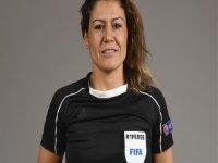 UEFA'dan Türk kadın hakeme görev