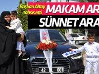 Başkan Altay, makam aracını şehit çocuklarına tahsis etti