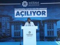 Fahrünnisa Hatun Kültür Merkezi açıldı