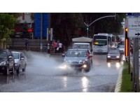 Edirne'de şiddetli yağış ve fırtına