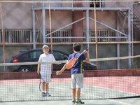 Teniste 15 Temmuz şehitleri anıldı