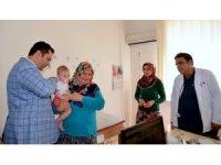 Bilge'den ilçelerdeki sağlık kuruluşlarına ziyaret